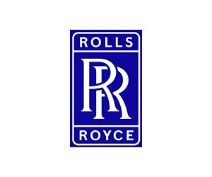 blue Rolls Royce logo