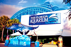 Front entrance to the Florida Aquarium