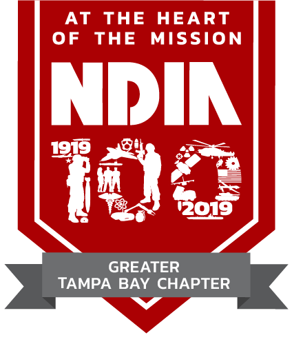 100 Year Chapter Logo Greater Tampa Bay