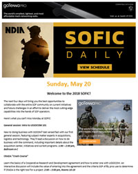 SOFIC Daily example for advertising