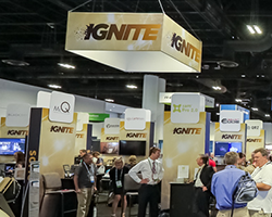 2019 SOFIC Ignite pavilion in exhibit hall