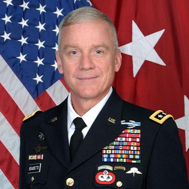 Lt. Gen. Francis M. Beaudette, USA