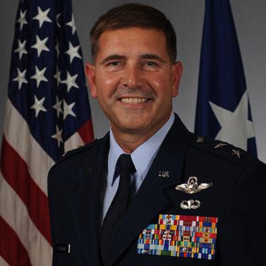 Major General Vincent K. Becklund, USAF